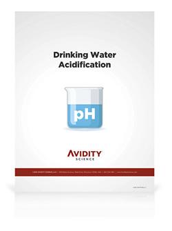 Acidification White Paper