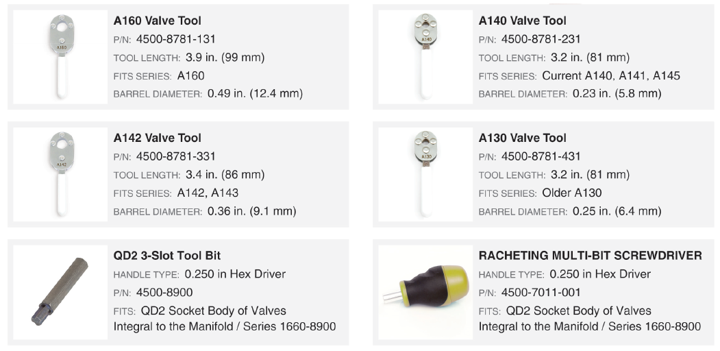 Drinking Valve Adjustment Tools