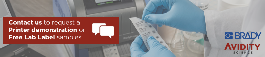 Request Free Brady label samples or a printer demonstration