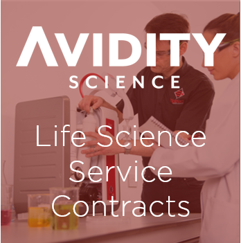 Avidity Science Life Science Service Contracts