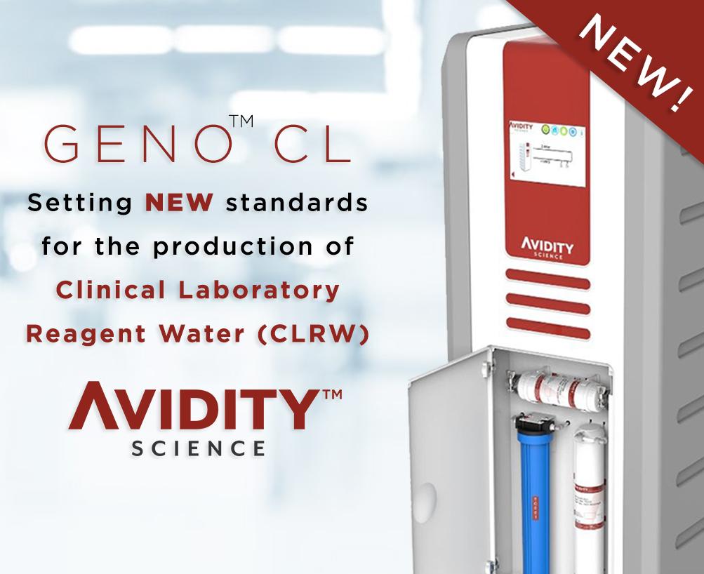 avidity science geno cl - clrw water